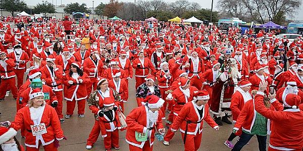 Santa Run Texas
