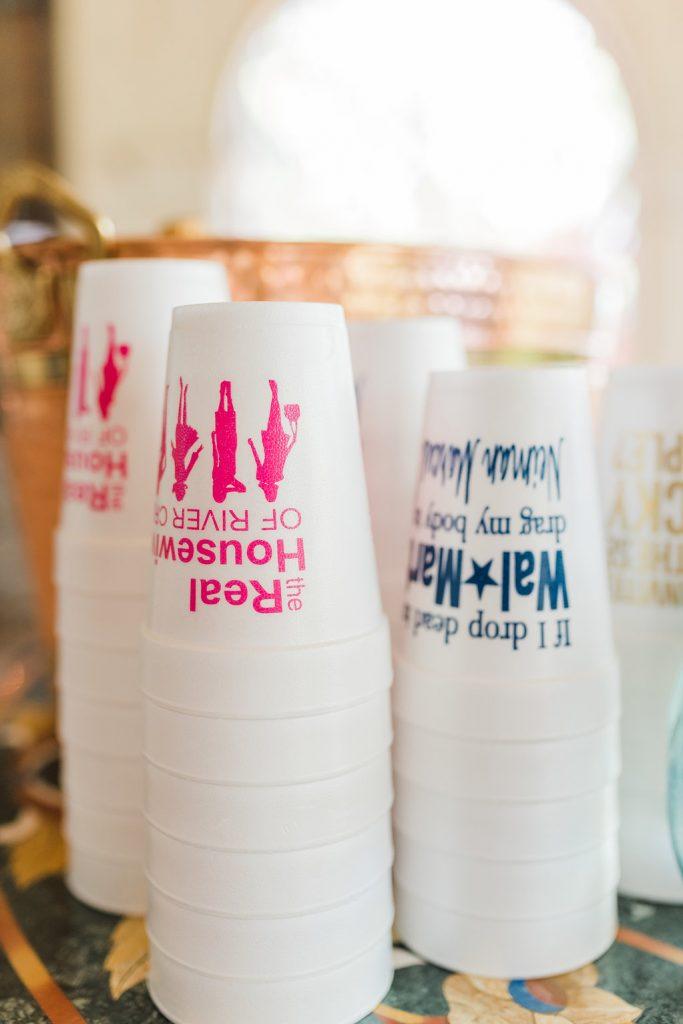 fun styrofoam cups