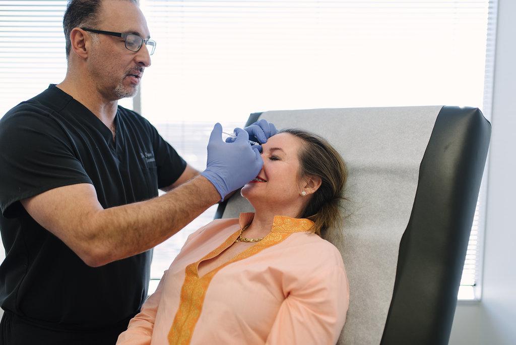 Dr. Peter Malouf Botox Christy Dunaway Smith