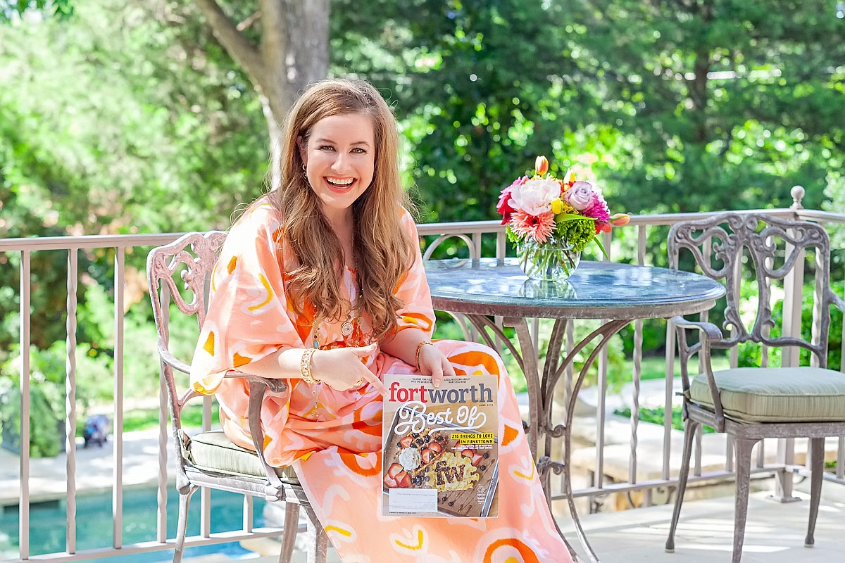 Christy Dunaway Smith Fort Worth Magazine Winner for Best Blogger/Local Influencer