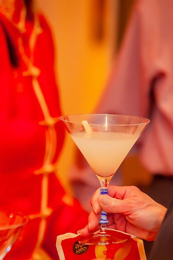 lunar new year lychee martini