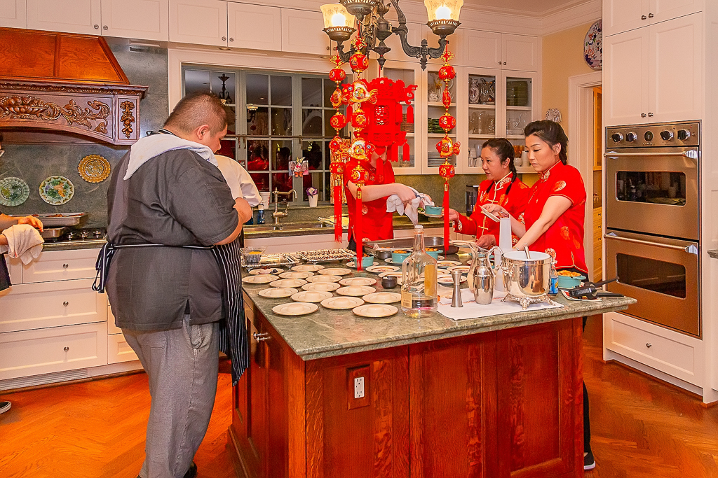 lunar new year kitchen
