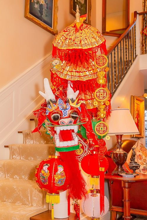 lunar new year banister