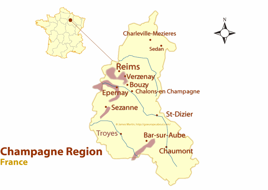 Reims Map
