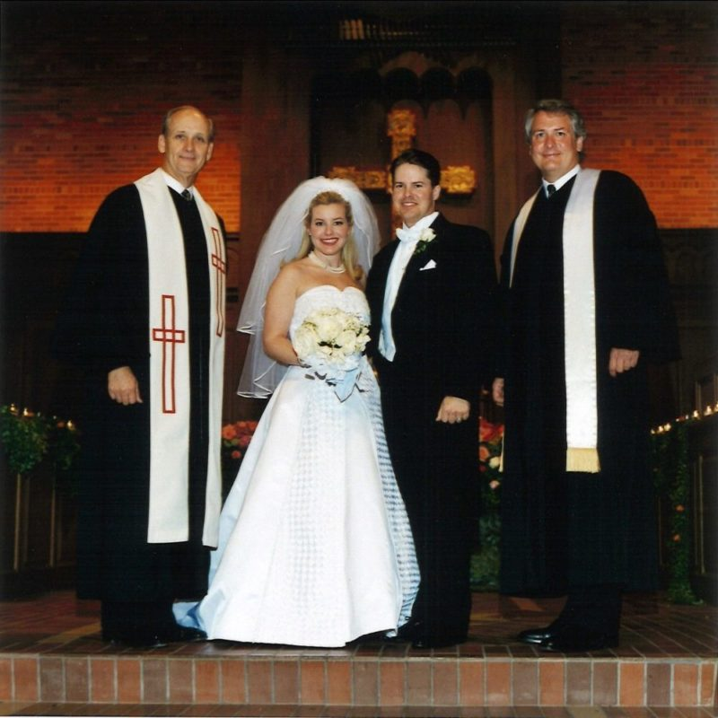 Ted Kitchens Scott Colglazier Dunaway Smith Wedding Fort Worth 2000
